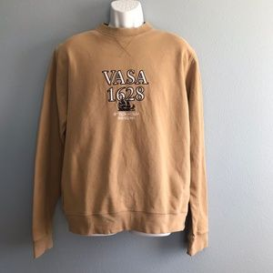 Other - Vasa Museet Stockholm Embroidered Tan Sweater XL